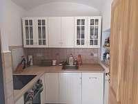 Kuchyň - chalupa ubytování Bělčice - Hostišovice