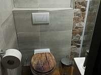 Koupelna - chata k pronájmu Obora u Vyšného