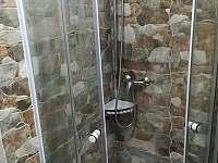 Sprchový kout - chata ubytování Obora u Vyšného