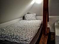 Jednolůžko - pronájem apartmánu Dráchov