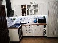 Kuchyňský kout - apartmán k pronájmu Dráchov