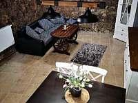 Obývací prostor s Tv - Dráchov