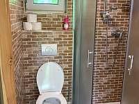 chata HUBERTKA - koupelna - k pronajmutí Jemčina
