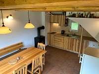 chata HUBERTKA - kuchyně - ubytování Jemčina