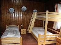 Pokoj - přízemí 1 - chata ubytování Varvažov