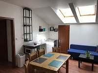 apartmán č.2 kuchyň - k pronájmu Suchdol nad Lužnicí - Tušť