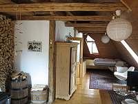 Studio Podkroví se saunou - pronájem apartmánu Římov