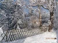 zima od východu - chata k pronájmu Žabovřesky - Dehtáře