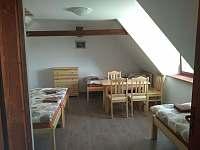 pokoj v podkroví - Zvíkovské Podhradí