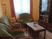 Obývací pokoj - apartmán ubytování Třeboň
