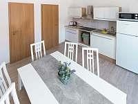 Čtyřlůžkový apartmán – AP1 (Kuchyň s jídelnou) - ubytování Třeboň - Břilice