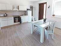 Čtyřlůžkový apartmán – AP2 (Kuchyň s jídelnou) - pronájem Třeboň - Břilice