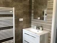 Apartmán CH0 - přízemí - Koupelna vč. WC - pronájem Dubenec