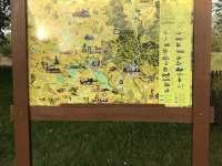 Mapa okolí - možnosti výletů - Dubenec