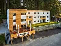 Apartmány Panelka Černá v Pošumaví - ubytování Černá v Pošumaví