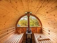 Sauna - srub ubytování Višňová