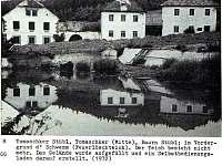 Chalupa u Brčáků, historická fotografie. - Ktiš