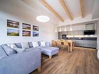 Obývací pokoj - apartmán k pronájmu Lipno nad Vltavou