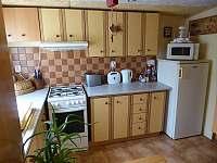 Kuchyně2 - chata k pronájmu Veleslavice