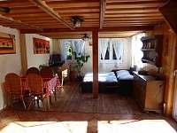 Společenská místnost 3 - pronájem chaty Veleslavice