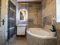 Apartmán 1 koupelna - chalupa k pronajmutí Klažary u Žumberka