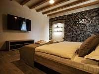 Apartmán 1 ložnice 2 - pronájem chalupy Klažary u Žumberka