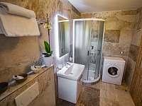Apartmán 2 koupelna - chalupa k pronajmutí Klažary u Žumberka