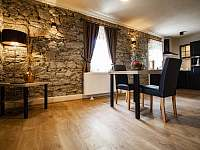 Apartmán 2 kuchyně - chalupa ubytování Klažary u Žumberka