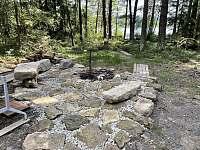Chata v lese u rybníka - chata ubytování Blato u Hůrek - 2