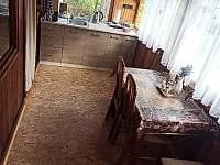 Kuchyň - chata ubytování Jickovice