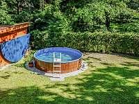 bazén - chata k pronajmutí Dehtáře