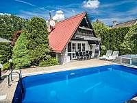Chata s bazénem Roudná u Soběslavi - k pronájmu