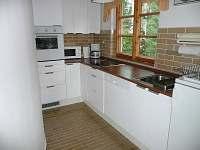 kuchyňský kout - chata ubytování Blatná - Vrbno