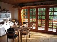 obývací místnost - chata k pronájmu Blatná - Vrbno