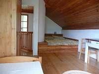 pokoj I. v podkroví - chata k pronajmutí Blatná - Vrbno