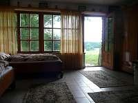 pokoj přízemí - pronájem chaty Blatná - Vrbno