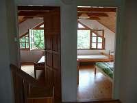 pokoje v podkroví - pronájem chaty Blatná - Vrbno