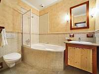Koupelna apartmány : 1,3 a 5 - Český Krumlov