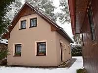 Zima na chatě - Týn nad Vltavou