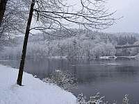 Zimní Vltava - Týn nad Vltavou