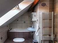 Podkroví - apartmán k pronájmu Třeboň
