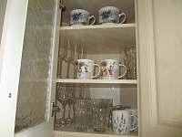 Kuchyně - vybavení - apartmán k pronajmutí Český Krumlov - Domoradice
