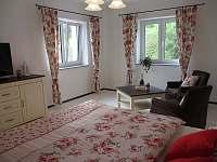 Ložnice 1 - apartmán k pronájmu Český Krumlov - Domoradice