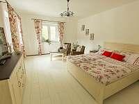 Ložnice 1 - apartmán k pronajmutí Český Krumlov - Domoradice