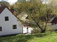 Pohled ze stráně - Český Krumlov - Domoradice