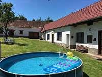 Chalupa k pronajmutí - dovolená Bazén Prachatice rekreace Velký Bor