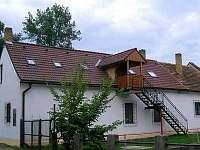 Apartmán na horách - okolí Zadní Zborovice