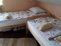 ložnice č.2-4lůžka - pronájem chaty Soběslav