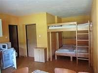 Ubytování Kubínovi_Nová Hlína 32_Velký nový apartmán_3+2 lůžka - chalupa k pronájmu