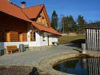 Chalupa k pronajmutí - dovolená  Chlumský rybník rekreace Libínské Sedlo